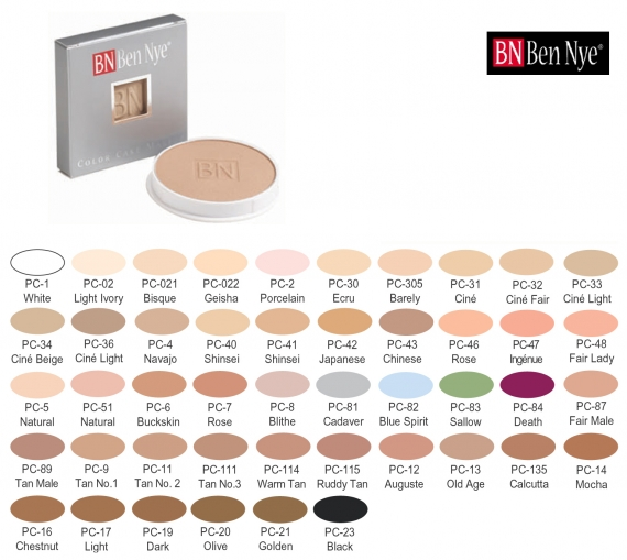 Ben Nye Cake Make up - Пудра Грим - BN104