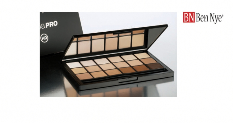 Ben Nye 18 Color Sheer Fondation Palette BNHDFP